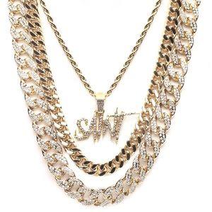 Saint Gold Chain Set - Gold